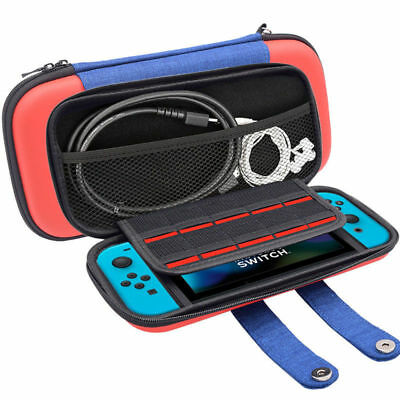 For Nintendo Switch Accessories Carry Case Travel Protective Storage  Mario Bag