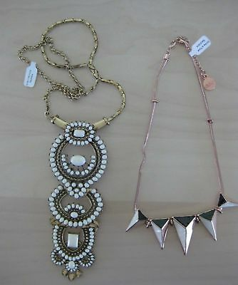 Lot of 2 7 Charming Sisters -  NECKLACE - New