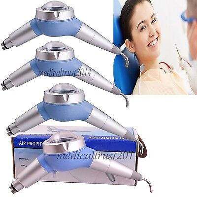 4pcs DENTIST Dental Hygiene Prophy Jet Air Polisher teeth Polishing Handpiece 4H