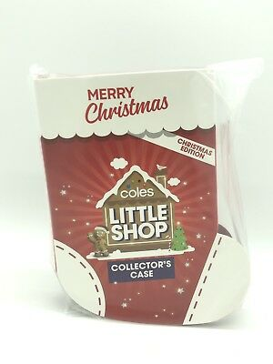 NEW Coles Christmas Stocking Little Shop Mini Collectors Limited Edition Case