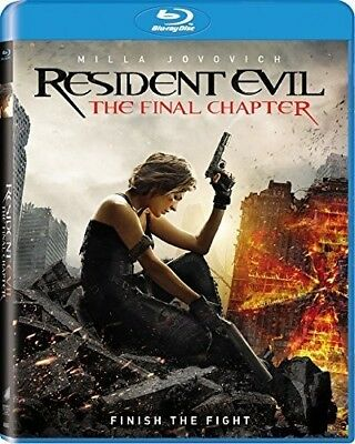 Resident Evil 6: The Final Chapter BLU-RAY NEW