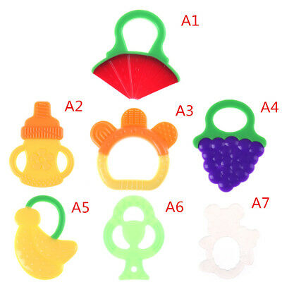 Safe Baby Kids Teether Chew Teething Infant Chewing Training Silicone Toys FT