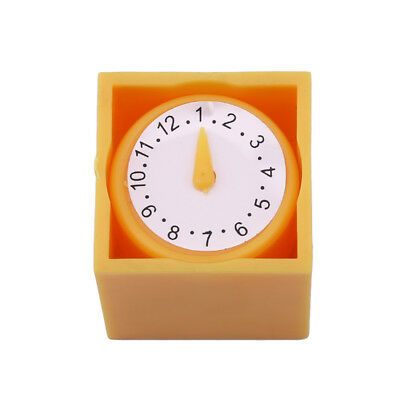 Yellow Prophecy Clock Time Mystery Box Kids Toy Stage Magic Show Props 8C