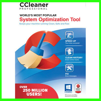 CCleaner Professional 2018 for Windows, lifetime license & livraison rapide