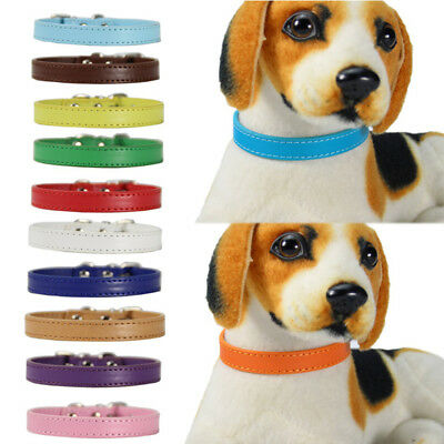1.0*30cm 1.5*37cm Pet Dog Rope Training Leash Lead Strap Traction Leather Collar
