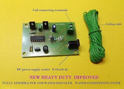 Electronic Water Descaler Decalcifier Conditioner DIY Assembled powerfull