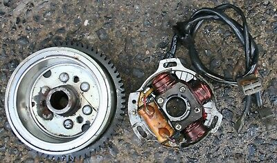 Cagiva Planet 125 98-03 Genny Generator Fly Wheel Rotor Stator Fast Uk Post