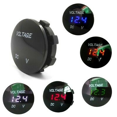 Car Motorcycle DC5V-48V LED Panel Digital Display Voltage Meter Voltmeter Type2