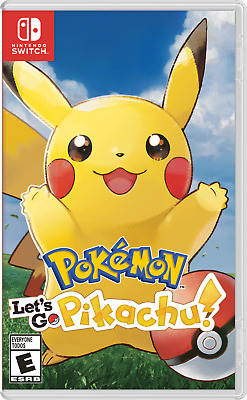 Pokémon: Let's Go, Pikachu! (Nintendo Switch, 2018)