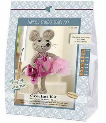 Go Handmade Crochet Kit Emily Mouse