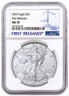 2019 1 oz American Silver Eagle $1 NGC MS70 FR SKU55785