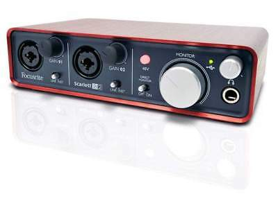 Focusrite  Scarlett 2i2 - Interfaccia Audio USB 2.0 Scheda Audio 2nd Generation