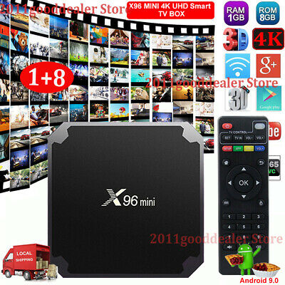 MXQ PRO Quad Core Android 7.1 Smart TV Box 1+8G WIFI HDMI 4K 3D USB Media Player