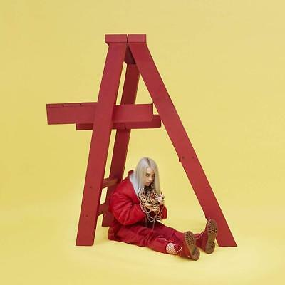 Billie Eilish DON'T SMILE AT ME +MP3s LIMITED EDITION New Red Colored Vinyl EP