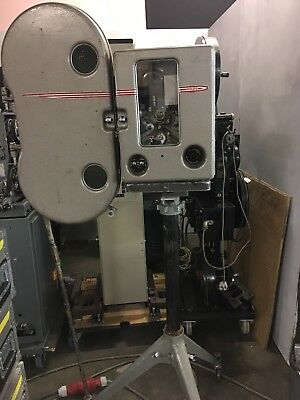 Super Rare Phillips FP3 Gold Portable 35mm film projector,led Stereo.SALE