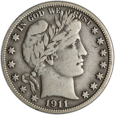 1911-S Barber Half Dollar Great Deals From The Executive Coin Company