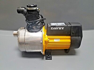 Davey HS-18-40H2  HydroScan Multi-Stage  Booster Pump with SuperCell Tank