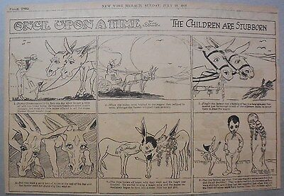 Once Upon A Time by Clyde Ludwick from 7/22/1917 Half Page Size