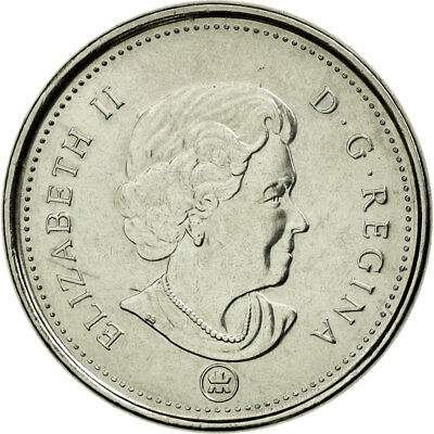 [#690142] Moneda, Canadá, Elizabeth II, 5 Cents, 2007, Royal Canadian Mint