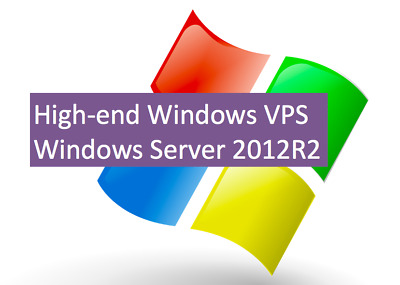 High-end Windows VPS / 12 core vCPU / 16GB RAM / 160GB SSD storage