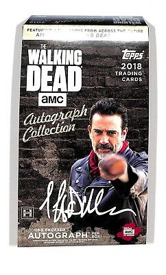 2018 Topps Walking Dead Autographe Collection Boîte Loisirs