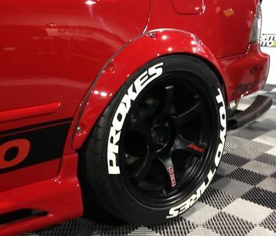 TOYO TIRE PROXES 3D Tire Lettering Sticker Wheel Decal Letters Kit