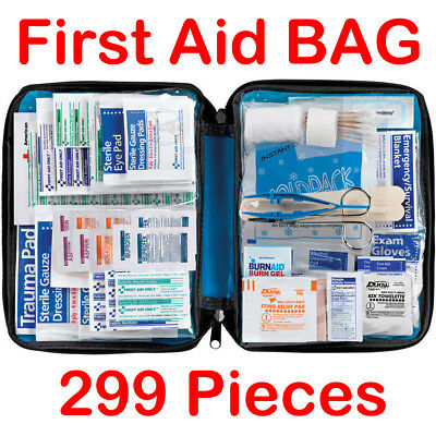 First Aid Kit Supplies Home Office Medical WorkplaceTravel Survival Medical Bag