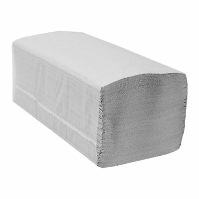 Interfold White Paper Hand Towels - V Fold - 1ply - 5,000 towels