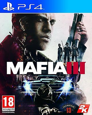 Mafia III (PS4) BRAND NEW SEALED Mafia 3