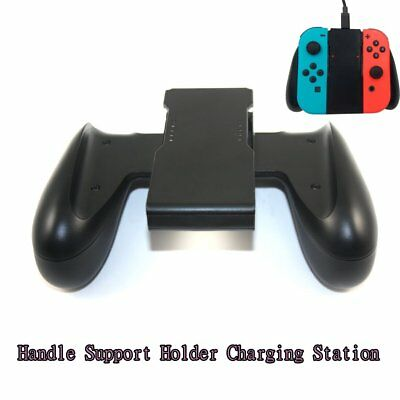 Comfort Grip Handle Charging Station For Nintendo Switch Joy-Con Charger RS
