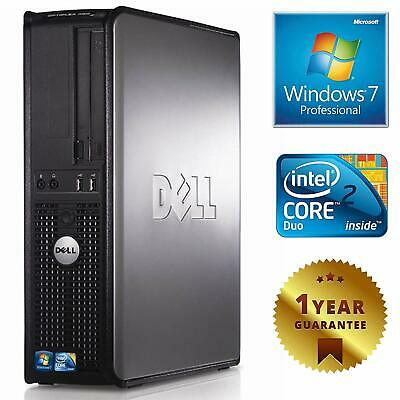 Pc Computer Desktop Fisso Dell Gx780 Intel Dual Core Ram 4Gb Hdd 250Gb Windows 7