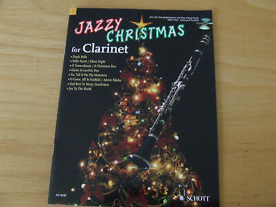 Jazzy Christmas for Clarinet plus CD