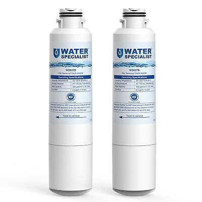 2 Pack - Water Filter for Samsung Fridge DA29-00020B HAF-CIN/EXP DA-97-08006A-B