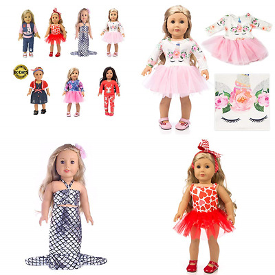 "American Girl Doll Unicorn 15Pc Accessories Clothes & 18"" TOY Toys Games"