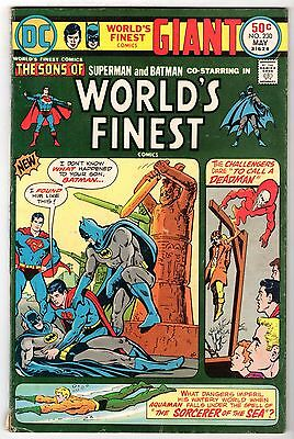 World's Finest #230 with Superman & Batman, Fine Condition'