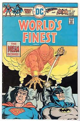 World's Finest #232 with Superman & Batman, Fine Condition'