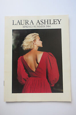Laura Ashley Vintage 1984 Spring/ Summer Fashion Catalogue