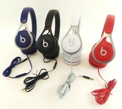 Original Genuine Beats by Dr. Dre Beats EP On Ear Wired Headphones Multi-Color
