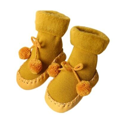 Baby Floor Socks Toddler Infant Thickened Non-slip Feet Protective Shoes Socks