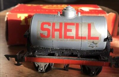 Vintage Tri-ang Railways Oo Gauge Shell Bp Tank Wagon R.12 Boxed 1960s Toys & Hobbies