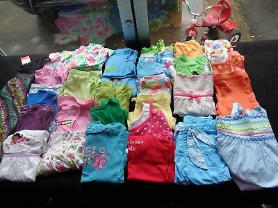 Girls Gymboreee Mixed Clothing Lot Size 6-8