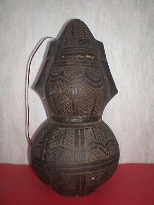 Antique Islamic, Middle Eastern, Arabic wooden Water Jug from the 18th century