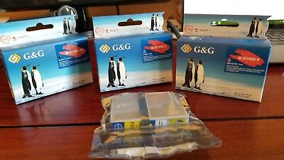Epson 200XL New & Sealed Compatible Ink Cartridges in CMYK