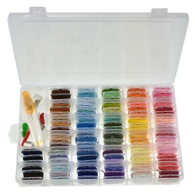 135pcs Embroidery Stitching Punch Needle Tool Set + 96 Mix Colors Sewing Thread