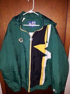 official photos bdbd2 0f32f VINTAGE GREEN BAY Packers Starter Jacket Size 2XL XXL NFL Football Winter  Coat