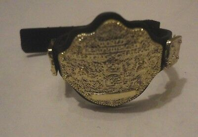 WWE WORLD HEAVYWEIGHT CHAMPIONSHIP Wrestling Belt for Action Figures