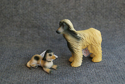 CollectA Afghan Hound and Puppy, 88173/88174