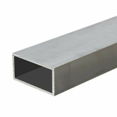 "6063-T52 Aluminum Rectangle Tube 1-1/2"" x 3"" x 24"" (1/8 Wall)"