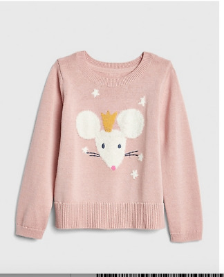 babyGap GAP SWEATER DISNEY BABY MINNIE MOUSE RUFFULE NWT 4T 5T N11 NNN