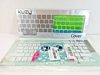 Keyboard Cover MacBook Pro/Air/retina & Litop Owel Series Silicone Thin Lot of 2